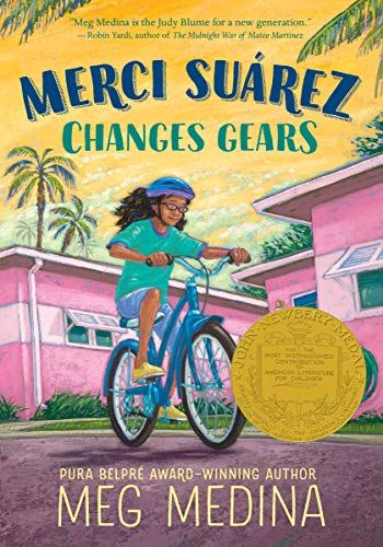 Merci Suarez Changes Gears by Meg Medina book cover