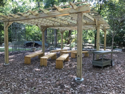 York Learning Garden Pergola