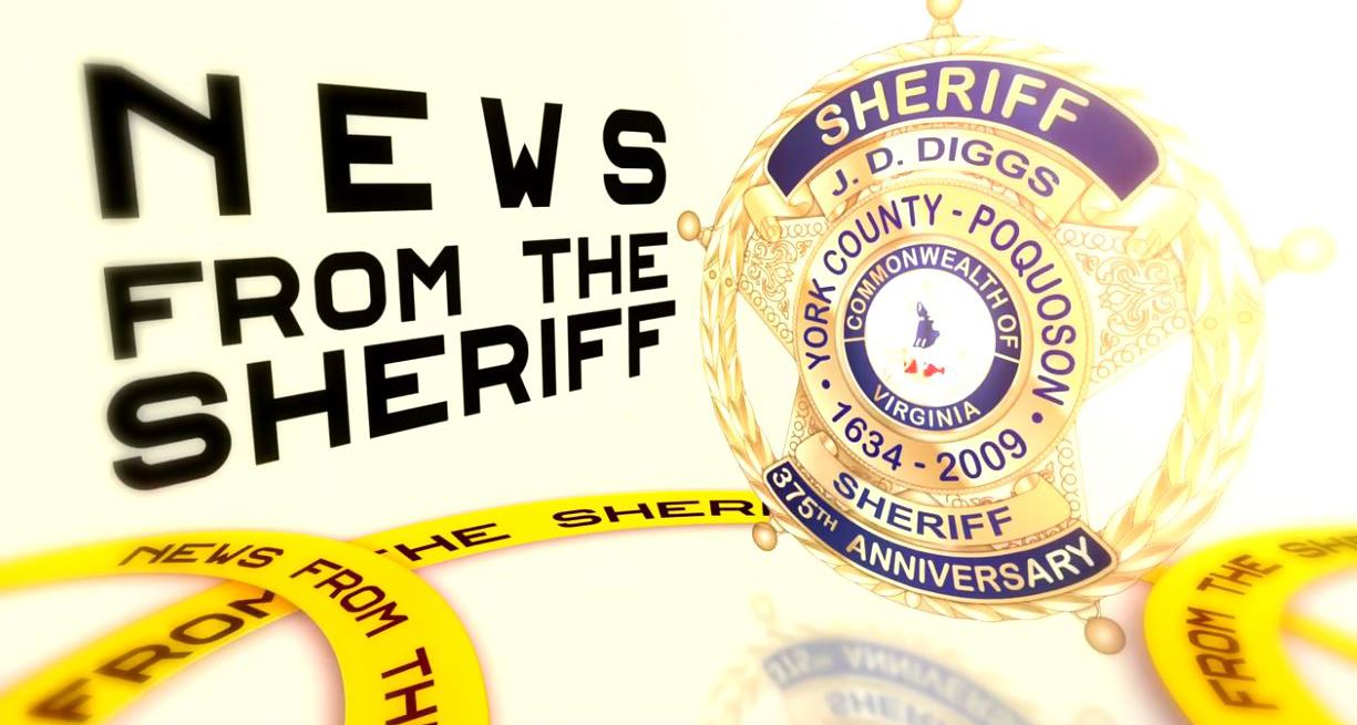 News from the Sheriff