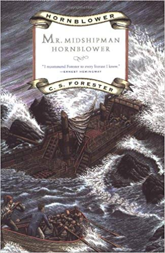 Mr. Midshipman Hornblower book cover