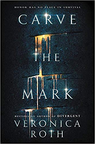 Carve the Mark by Veronica Roth book cover