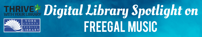 On today's Digital Library Spotlight we will learn about Freegal, a free music streaming platform