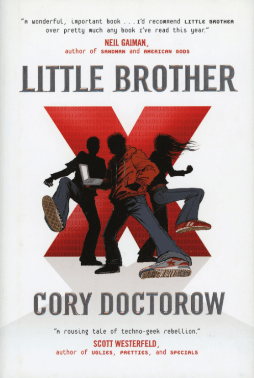 Teen Blaine H. gives Little Brother by Cory Doctorow 5 stars
