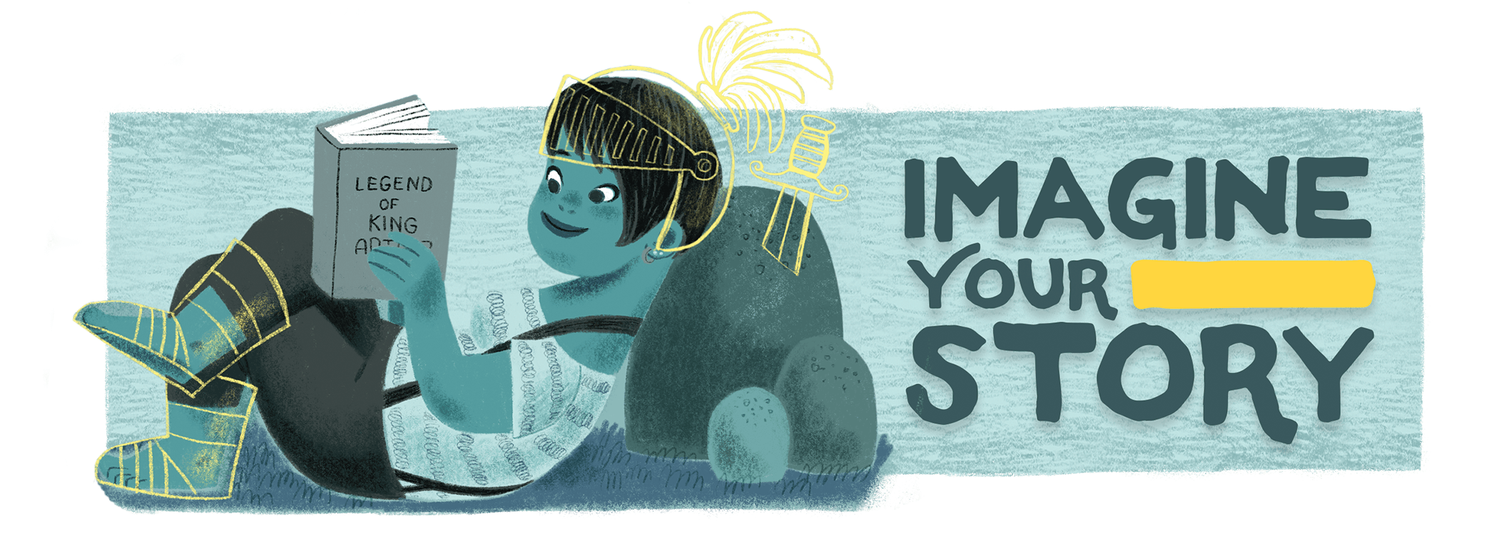 Imagine Your story Summer Reading Program takes place June 22 through July 31