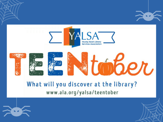Participate in our Teentober Bingo Card and Survey during October