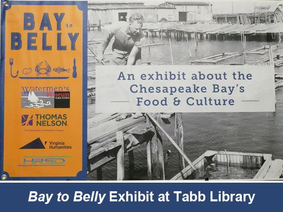 "Waterman's Museum's ""Bay to Belly"" exhibit at Tabb Library through early February"