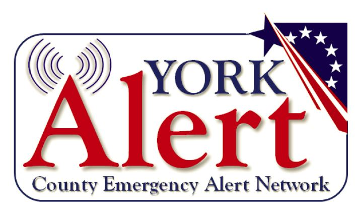 York Alert County Emergency Alert Network Logo