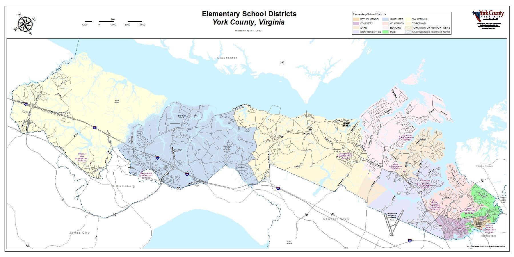 Elementary School Districts - Large
