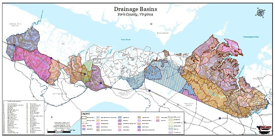 Drainage Basins - Large