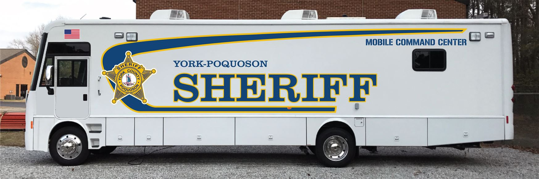 York-Poquoson Sheriff's Office Command Bus