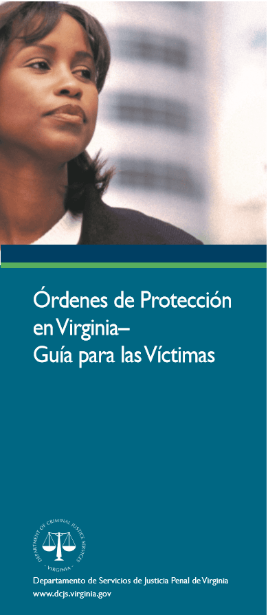 Protective Orders-Virginia Guide Spanish