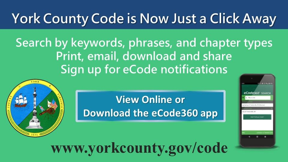 York County Code Search