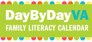 Fuel your child's imagination with daily literacy activities from the Library of Virginia.